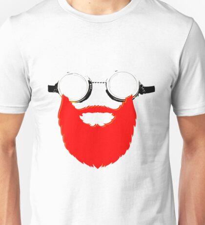 Beard Goggles Unisex T-Shirt