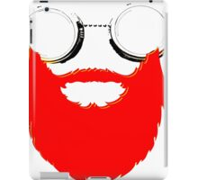 Beard Goggles iPad Case/Skin