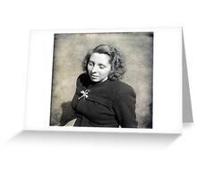 Marjorie 1946 Greeting Card