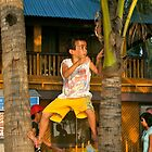 Climbing the coconut tree by robigeehk