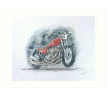 Triumph x-75 Art Print