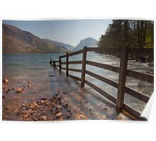Fence, Buttermere. Poster