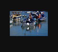 Boats in the Harbour. Lyme Dorset. UK Unisex T-Shirt