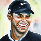 tiger woods by Brian Degnon