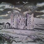 'Bolton Castle, Wensleydale'  by Martin Williamson (©cobbybrook)