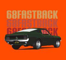 68 Fastback Kids Tee