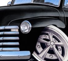 Chevy 3100 Pick-Up (A) Black Sticker