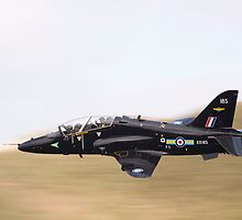 RAF Hawk T1a XX185 low level by Peter Talbot