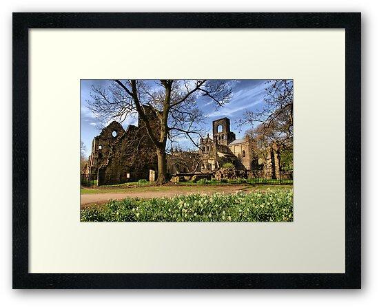 Kirkstall Abbey #2 by Sandra Cockayne