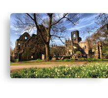 Kirkstall Abbey #2 Canvas Print
