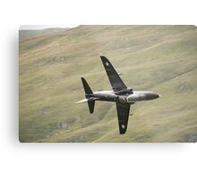 RAF Hawk T1a knife edge and pulling vapour Metal Print