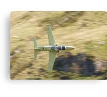 Hawk T2 in primer flying low past CAD West Canvas Print