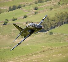 Hawk T1a XX195 approaching CAD West by Peter Talbot
