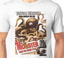 Vintage Sea Monster T-shirt Unisex T-Shirt