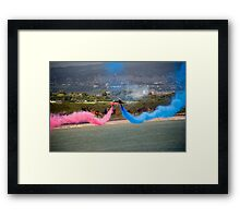 Red Arrows at Dawlish Airshow, August 2009 Framed Print