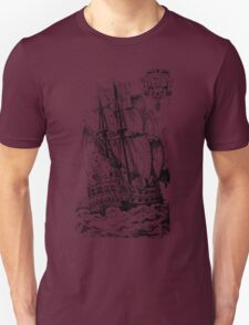 Pirate Ship T-shirt Unisex T-Shirt