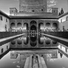Alhambra - Patio del los Arrayanes - Granada - (treatment 2) by marcopuch