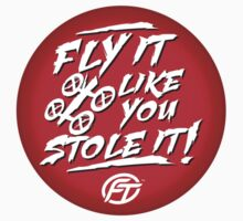 Fly It Like You Stole It Graphic Tees! T-Shirt