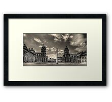 Old Royal Naval College - Greenwich Framed Print