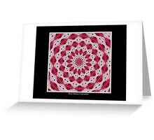 Hibiscus Kaleidoscope #1 Greeting Card