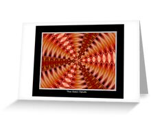 Lilies Kaleidoscope #2 Greeting Card