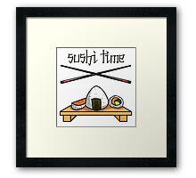 Sushi Time! Framed Print