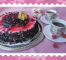 A cake with love by Paola Svensson