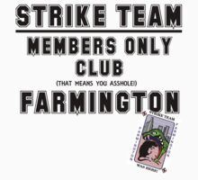 Strike Team Members Club (Black letters) by marting04