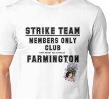 Strike Team Members Club (Black letters) Unisex T-Shirt