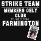 Strike Team Members Club (White letters) by marting04