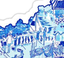 Kentucky Lilly Print 7 Sticker