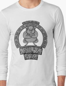 Fil's gym for gods and heros Long Sleeve T-Shirt
