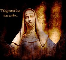 The greatest love lives within by Madeleine Forsberg