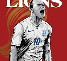 England | Soccer by SALSAMAN