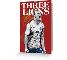 England | Soccer Greeting Card
