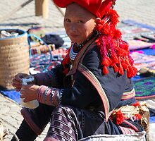 Ann at Sapa Markets. by Loachlover