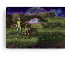 The Teacher .. science fiction Canvas Print