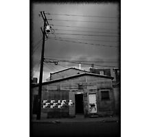 Dead Center of Town #1 Photographic Print