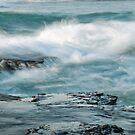 Coledale wild water by Geraldine Lefoe