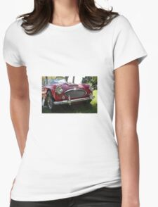 Vintage car Womens Fitted T-Shirt