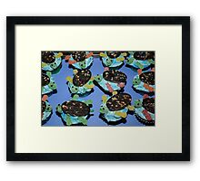 Sea Turtles Cup Cakes Framed Print