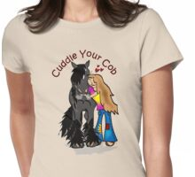 Cuddle  your cob 2 Womens Fitted T-Shirt