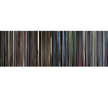 Moviebarcode: Requiem for a Dream (2000) Photographic Print