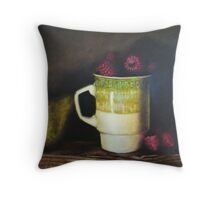 Classic Still-Life Throw Pillow