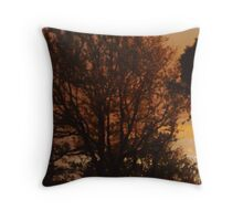 Sunrise of a new day Throw Pillow