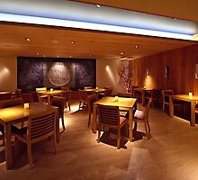 Ozumo Restaurant  •  Interiors by Richard  Leon