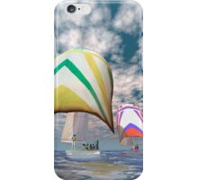 America's cup . . . the upset.  iPhone Case/Skin