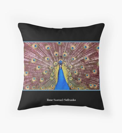 Peacock Throw Pillow