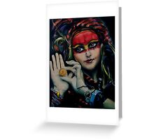 Princess of the Thieves Greeting Card