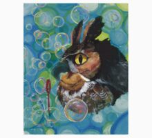 a Hoot; passin' the time watchin' bubbles float by Kids Tee